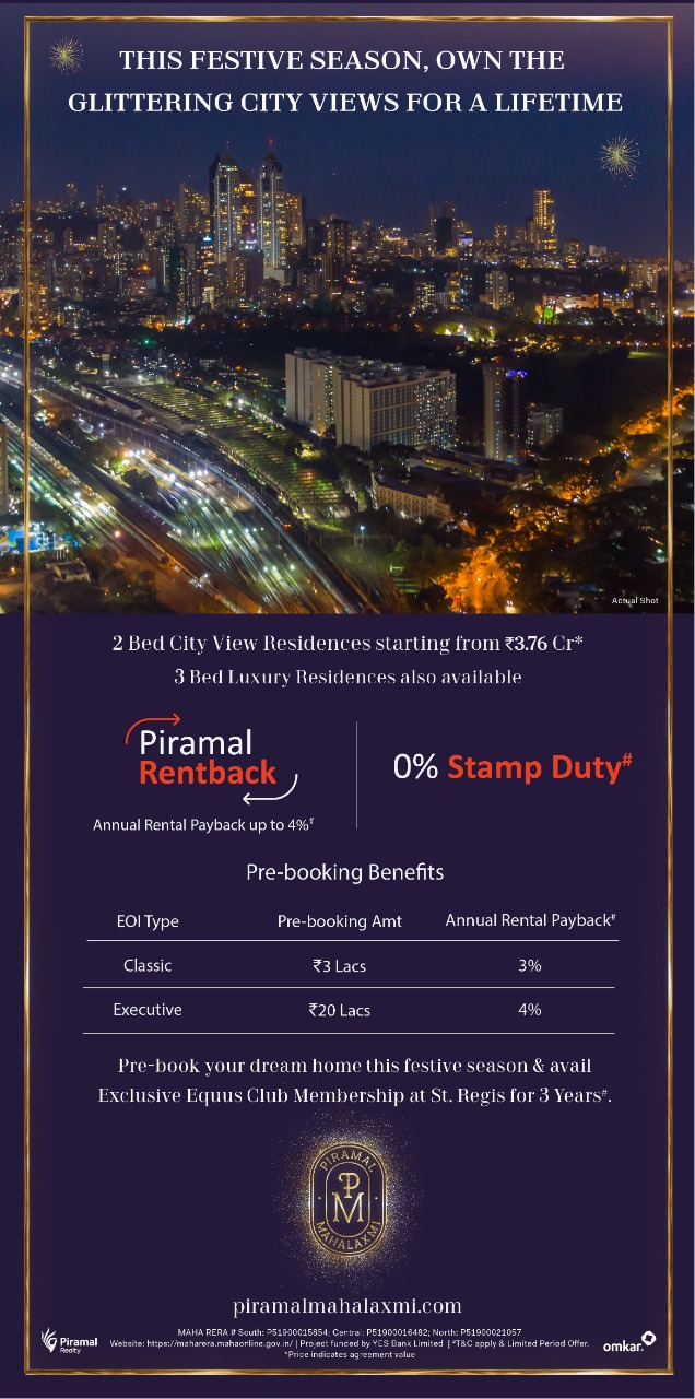Zero Stamp Duty + Annual Rentback of upto 4%.